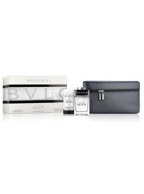 perfume Bvlgari Estuche Man edt 100ml + Gel 75ml + Neceser - colonia de hombre