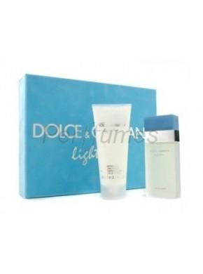 perfume Dolce Gabbana Estuche Light Blue edt 25ml + Crema Corporal 50ml - colonia de mujer