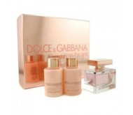 Set Dolce Gabbana Rose The One edp 75ml + Body Milk 100ml + Gel 100ml