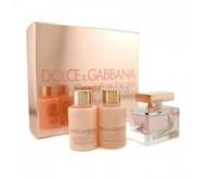 Set Dolce Gabbana Rose The One edp 75ml + Body Milk 100ml + Gel 100ml
