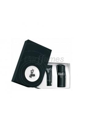perfume Paco Rabanne PACO RABANNE SET XS BLACK 100ML + GEL 150ML - colonia de hombre