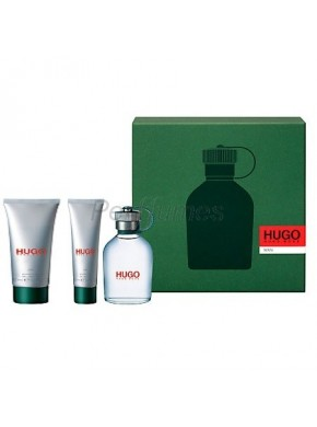 perfume Hugo Boss Hugo 150ml + Gel 50ml + After Shave 75ml - colonia de hombre