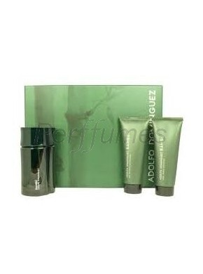 perfume Adolfo Dominguez Estuche Bambu edt 120ml + Desodorante 200ml - colonia de hombre