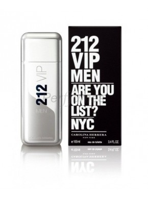 perfume Carolina Herrera 212 Vip Men edt 50ml - colonia de hombre