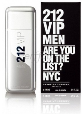 perfume Carolina Herrera 212 Vip Men edt 100ml - colonia de hombre