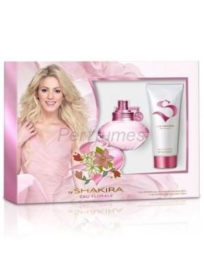 perfume Shakira S by eau Florale edt 50ml + Loción Corporal 100ml - colonia de mujer