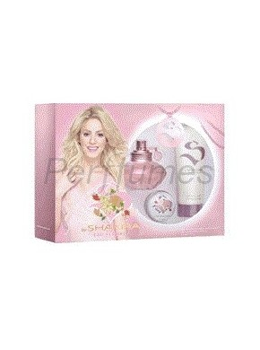 perfume Shakira S by eau Florale edt 80 ml + Body Milk 100 ml + Bálsamo para Labios 15g - colonia de mujer