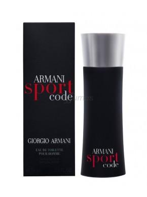 perfume Armani Code Sport edt 75ml - colonia de hombre