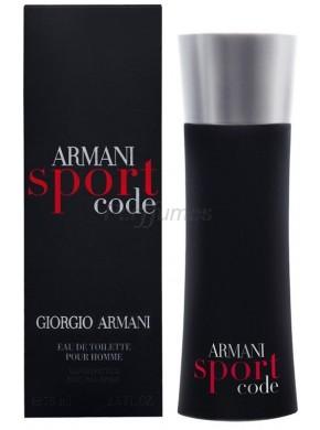 perfume Armani Code Sport edt 125ml - colonia de hombre