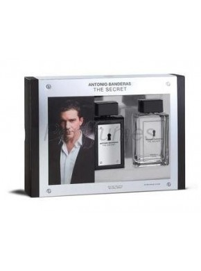 perfume Antonio Banderas The Secret edt 100ml + After Shave 100ml - colonia de hombre