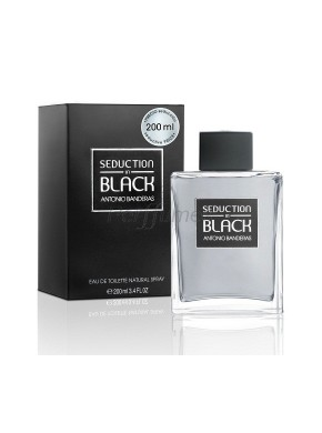 perfume Antonio Banderas Seduction in Black edt 200ml - colonia de hombre