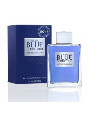 perfume Antonio Banderas Blue Seduction edt 200ml - colonia de hombre