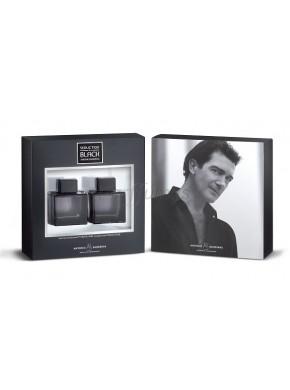 perfume Antonio Banderas Seduction in Black edt 100ml + After Shave 100ml - colonia de hombre