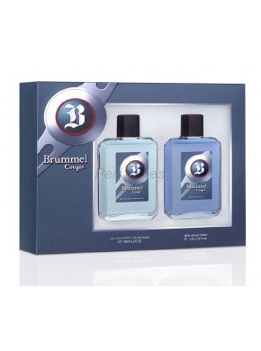 perfume Brummel Coupe edc 125ml + After Shave 125ml - colonia de hombre