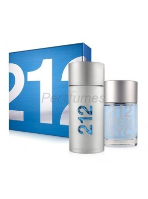 perfume Carolina Herrera 212 Men edt 100ml + After Shave 100ml - colonia de hombre