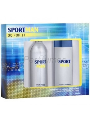 perfume Puig Set SportMan edt 150ml + Champu-Gel 75ml - colonia de hombre