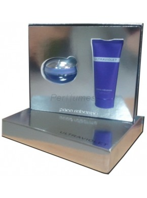 perfume Paco Rabanne Ultraviolet edp 50ml + Body Lotion 100ml - colonia de mujer