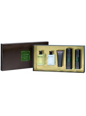 perfume Massimo Dutti Massimo Dutti edt 100ml + Masaje emulsion 100ml + Espuma Afeitar 150ml + Gel Ducha 100ml + Desodorante Spray 150ml - colonia de hombre