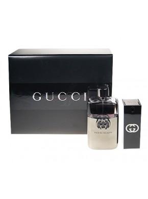 perfume Gucci Estuche Guilty Homme edt 90ml + 30ml - colonia de hombre
