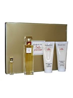 perfume Elizabeth Arden 5th Avenue Set 4 Piezas 5th Avenue edp 75ml Set 4 Piezas - colonia de mujer