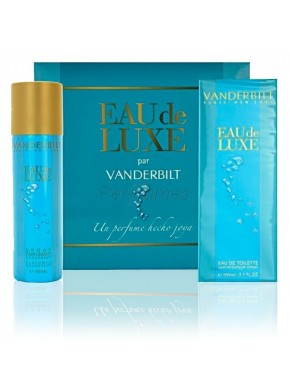 perfume Gloria Vanderbilt Eau de Luxe edt 100ml + Deo 150ml - colonia de mujer