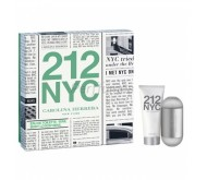 Carolina Herrera 212 edt 60 ml + Body milk 100ml