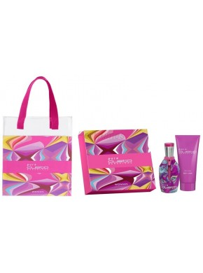 perfume Custo Barcelona Pure Custo Woman edt 100ml + Body Lotion 200ml - colonia de mujer