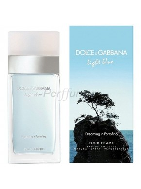 perfume Dolce Gabbana Light Blue Dreaming In Portofino edt 50ml - colonia de mujer