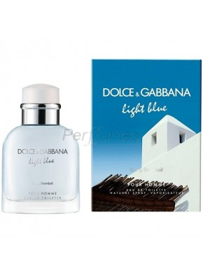perfume Dolce Gabbana Light Blue Living Stromboli edt 75ml - colonia de hombre
