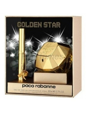 perfume Paco Rabanne Lady Million edp 50ml + Gel 50ml + Leche Corporal 50ml - colonia de mujer