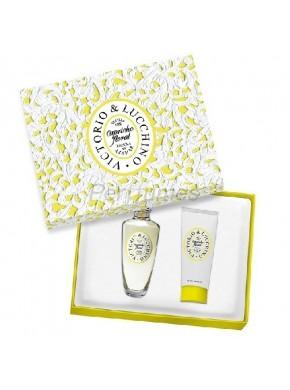 perfume Victorio y Lucchino Locura De Azahar edt 100ml + Body Milk 100ml - colonia de mujer