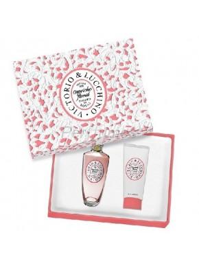 perfume Victorio y Lucchino Tentacion De Rosas edt 100ml + Body Milk 100ml - colonia de mujer