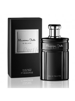perfume Massimo Dutti In Black edt 100ml - colonia de hombre