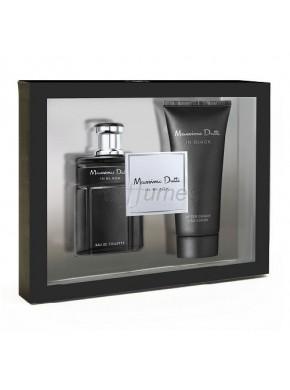 perfume Massimo Dutti In Black edt 100ml + After Shave 100ml - colonia de hombre