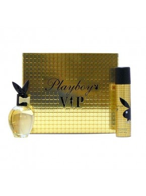 perfume PlayBoy Vip edt 75ml + Deo 75ml - colonia de mujer