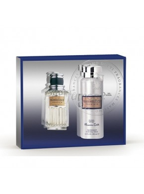 perfume Massimo Dutti Absolute edt 100ml + Deo 200ml - colonia de hombre