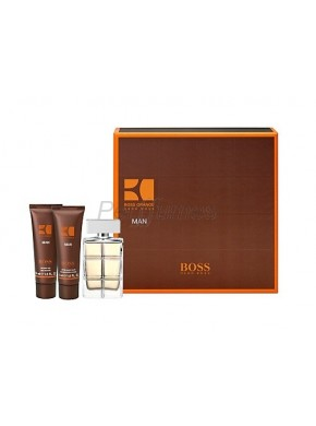 perfume Hugo Boss Orange Man edt 100ml + After Shave 75ml + Gel 50ml - colonia de hombre