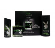 PlayBoy Berlin edt 100ml + Deo 150ml + Gel 250ml