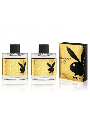 perfume PlayBoy Vip edt 100ml + After Shave 100ml - colonia de hombre