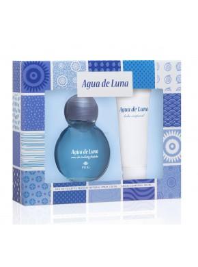 perfume Puig Agua de Luna edt 100ml + Leche Corporal 100ml - colonia de mujer