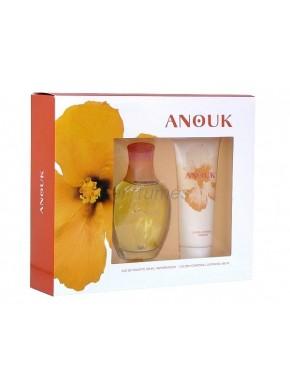 perfume Puig Anouk edt 100ml + Locion Corporal 100ml - colonia de mujer