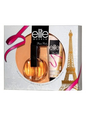 perfume Elite Models Paris Baby edt 50ml + Body Lotion 75ml - colonia de mujer