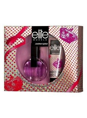 perfume Elite Models London Queen edt 50ml + Body Milk 75ml - colonia de mujer