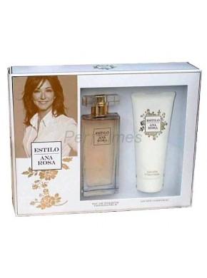 perfume Ana Rosa Estilo edt 100ml + Gel 100ml - colonia de mujer