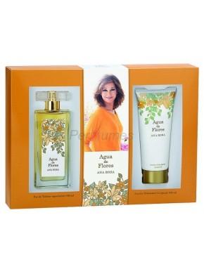 perfume Ana Rosa Agua de Flores edt 100ml + Loción Hidratante Corporal 100ml - colonia de mujer
