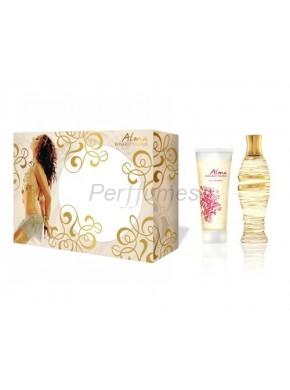 perfume Rosario Flores Alma edt 100ml + Loción Hidratante Luminosa 100ml - colonia de mujer