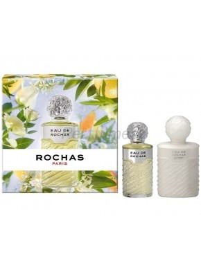 perfume Rochas Eau 100ml + Body Lotion 250ml - colonia de mujer