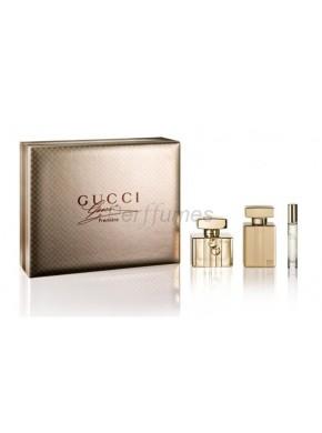 perfume Gucci Premiere edp 75ml + Body Lotion 100ml + Mini 7,4ml - colonia de mujer
