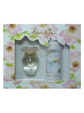 perfume Puig Fleur de Jour edt 50ml + Deo 200ml - colonia de mujer