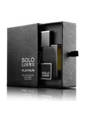 perfume Loewe Solo Platinium edt 50ml - colonia de hombre